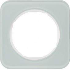 Рамка 1Х скло, пол.білизна, R.1 Berker 10112109