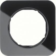 Рамка 1Х скло,чорна, R.1 Berker 10112116