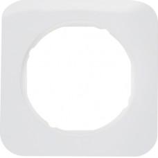 Рамка 1Х пластик, пол.білизна, глянцева, R.1 Berker 10112189