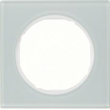 Рамка 1Х скло, пол.білизна, R.3 Berker 10112209