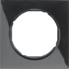 Рамка 1Х пластик, чорна, глянцева, R.3 Berker 10112245