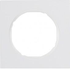 Рамка 1Х пластик, пол.білизна, глянцева, R.3 Berker 10112289