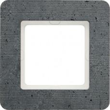 Рамка 1Х бетон текстурированный, серый, Q.7 Berker 10116020