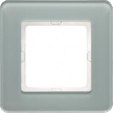Рамка 1Х стекло, пол.белизна, Q.7 Berker 10116079