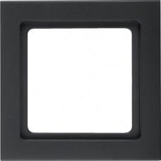 Рамка 1Х пластик, антрацитовый, бархатный лак, Q.3 Berker 10116096