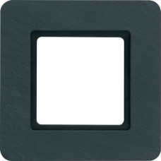 Рамка под LED-модуль 1Х сланец натуральный, антрацитовый, Q.7 Berker 10116130