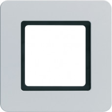Рамка под LED-модуль 1Х алюминий, струйная обработка, Q.7 Berker 10116174