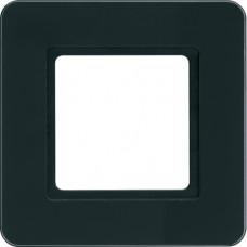 Рамка под LED-модуль 1Х стело, черный Q.7 Berker 10116176
