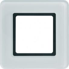 Рамка под LED-модуль 1Х стекло, пол.белизна Q.7 Berker 10116179