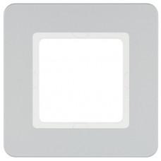 Рамка 1Х пластик, алюминий, Q.7 Berker 10116184