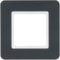 Рамка 1Х пластик, антрацит, Q.7 Berker 10116186