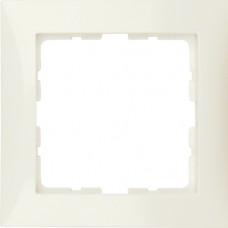 Рамка 1Х пластик, белый, глянцевый S.1 Berker 10118982