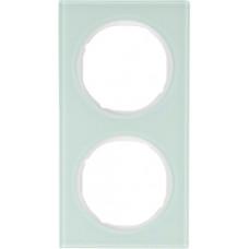 Рамка 2Х скло, пол.білизна, R.3 Berker 10122209