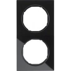 Рамка 2Х скло, чорна, R.3 Berker 10122216