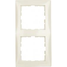 Рамка 2Х пластик, белый, глянцевый S.1 Berker 10128982