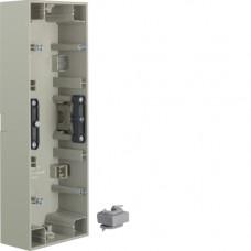 Коробка зовнішня 3Х нержавіюча сталь, метал матований, вертикальна, K.5 Berker 10437004