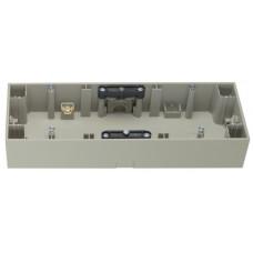 Коробка зовнішня 3Х нержавіюча сталь, метал матований, горизонтальна, K.5 Berker 10537004