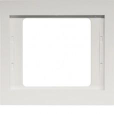 Рамка 1Х пол.білизна, глянцевий, K.1 Berker 13137009