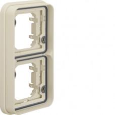 Рамка 2Х для в/у, вертикальная, белая, W.1 Berker 13293512