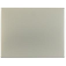 Клавиша 1Х, нержавеющая сталь, металл матированный, K.5 Berker 14057004