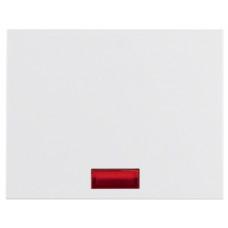 Клавіша 1Х з лінзою, пол.білизна, глянцевий, K.1 Berker 14157009