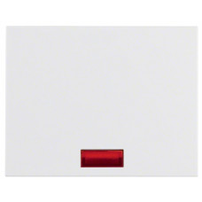 Клавиша 1Х с линзами, пол.белизна, глянцевый, K.1 Berker 14157009