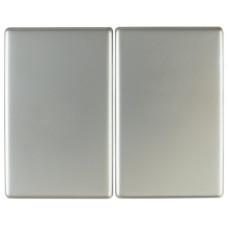 Клавиша 2Х, нержавеющая сталь, металл матированный, K.5 Berker 14357004