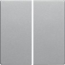 Клавіша 2Х, алюмінієвий, бархатний лак, Q.х Berker 16236084