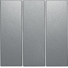 Клавиша 3Х, алюминиевый, матовый лак, S.1 Berker 16651404