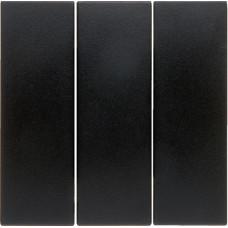 Клавиша 3Х, антрацитовый, матовый, S.1 Berker 16651606