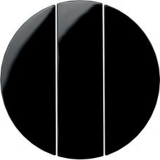 Клавиша 3Х, черные, R.x Berker 16652045