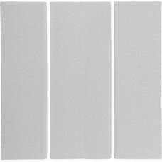 Клавиша 3Х, пол.белизна, глянцевый, S.1 Berker 16658989