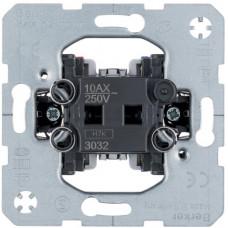 Выключатель одноклавишный, 1-полюсный, 10АХ/250В, Berker 3031