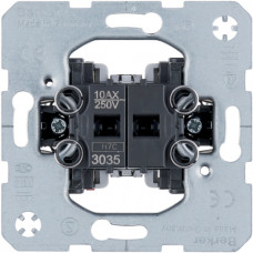 Выключатель двухклавишный, 10АХ/250В Berker 3035