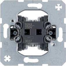 Выключатель/переключатель одноклавишный крестовидный, 10АХ/250В Berker 3037