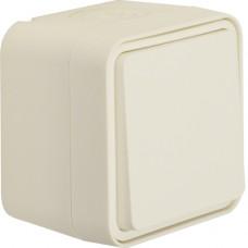 Переключатель IP55, белый, 10АX/250В W.1 Berker 30763502