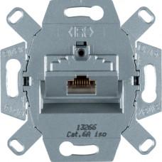Розетка UAE 8-полюсн. экранированная, Кат.6a ISO, одинарная, Berker 4586