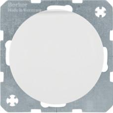 Розетка з з/к, з кришкою, зі шторками, 16А/250В, пол.білизна, глянцева, R.x Berker 47512089