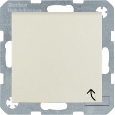 Розетка с з/к с крышкой, белый, глянцевый, 16А/250В S.1 Berker 47518982