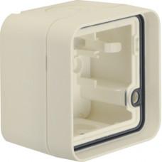 Корпус с рамкой 1Х для н/у, белый, W.1 Berker 6118913502