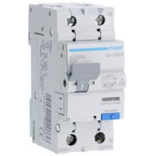 Дифференциальный автоматический выключатель 1+N 6kA B-25A 30mA A 2м Hager AD925J