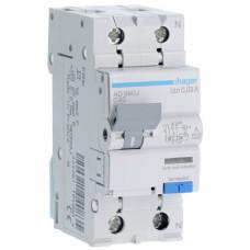Дифференциальный автоматический выключатель 1+N 6kA C-40A 30mA A 2м Hager AD990J