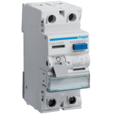 Устройство защитного отключения УЗО 2x40 A, 500 mA, A, 2м Hager CGA240D