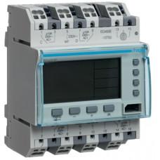 Таймер цифровий річний 10А, 3 перемик.контакти+1НВ, запас ходу 10 років, 4м Hager EG401