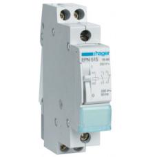 Импульсное реле 230В/16А, 1НО+1НЗ, 1м Hager EPN515