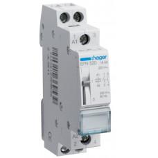 Импульсное реле 230В/16А, 2НО, 1м Hager EPN520