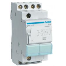 Импульсное реле 230В/16А, 2НО+2НЗ, 2м Hager EPN525