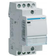 Контактор 25A, 3НО, 230В, 2м Hager ESC325