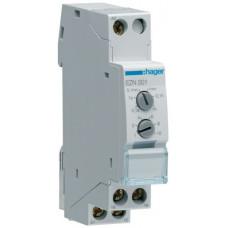Реле времени с задержкой втягивания, 1 переключаемый контакт, 1м Hager EZN001