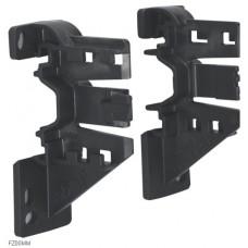 Тримач для патч-панелі, правий/лівий, монтаж на DIN-рейку або різьбовий, Hager FZ00MM